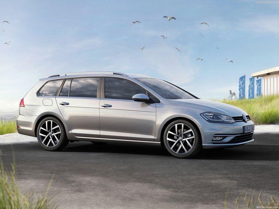 Volkswagen Golf variant wagon cars 2017 wallpaper