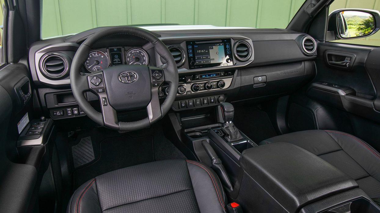 2017 Toyota Tacoma TRD pro pickup cars wallpaper