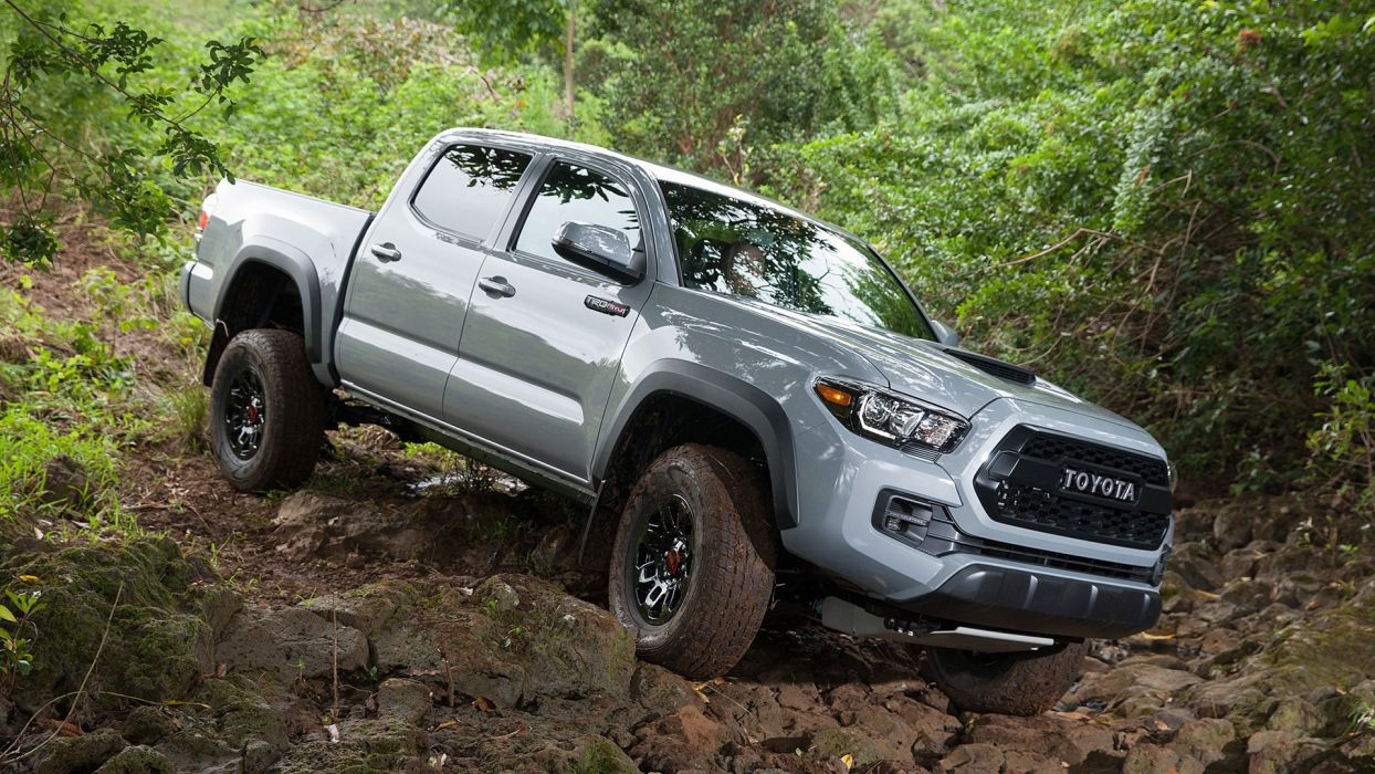 2017 Toyota Tacoma TRD pro pickup cars wallpaper