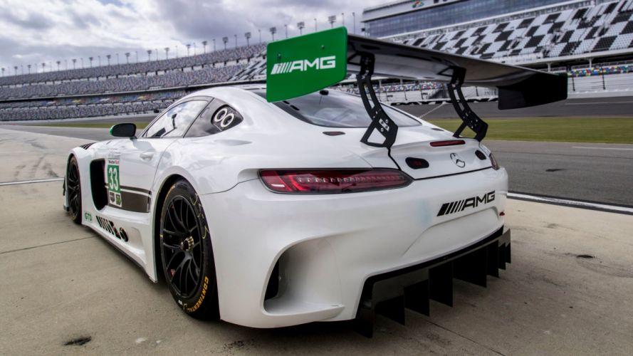 Mercedes AMG GT3 cars racecars American endurance racing 2017 wallpaper