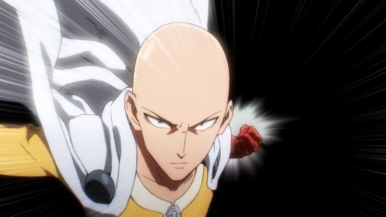Saitama anime man one punch wallpaper