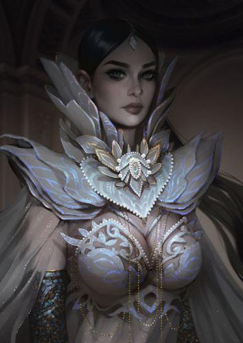 svetlana-tigai princess fantasy art beauty woman wallpaper
