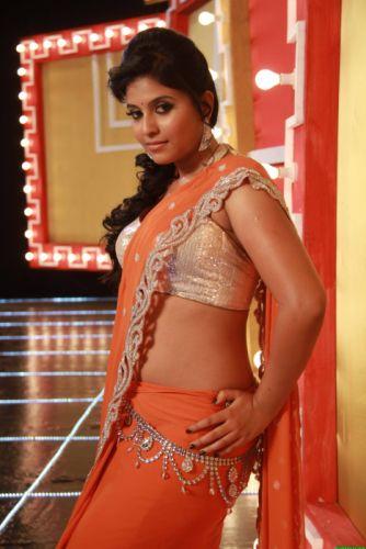 Anjali-Hot-Navel-Photos-From-Mada-Gaja-Raja-3 wallpaper