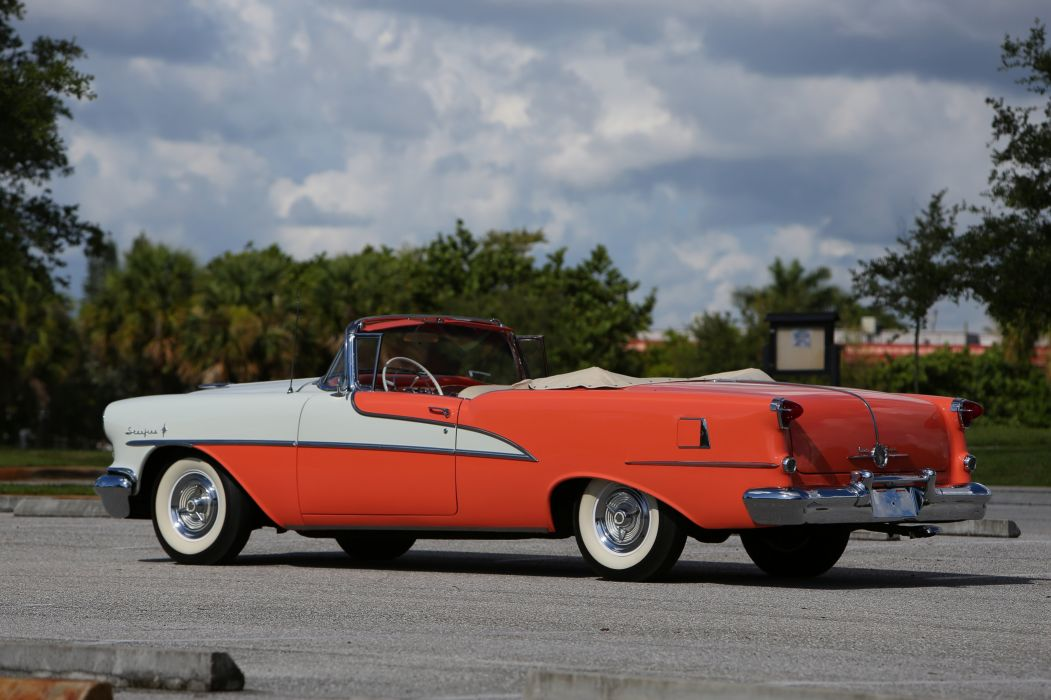1955 Oldsmobile (98) Starfire Convertible cars classic wallpaper