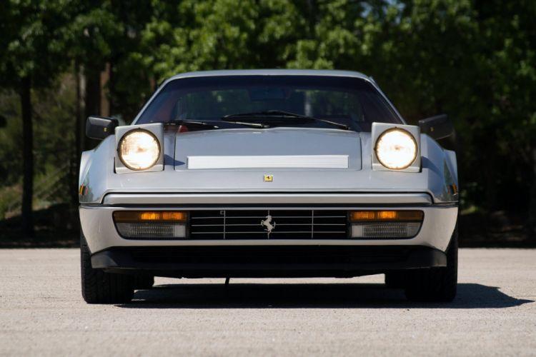 Ferrari 328 GTB coupe silver 1985 wallpaper