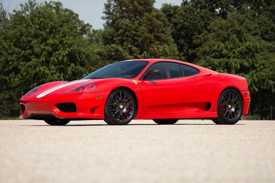 Ferrari Challenge Stradale 360 cars red 2003 wallpaper