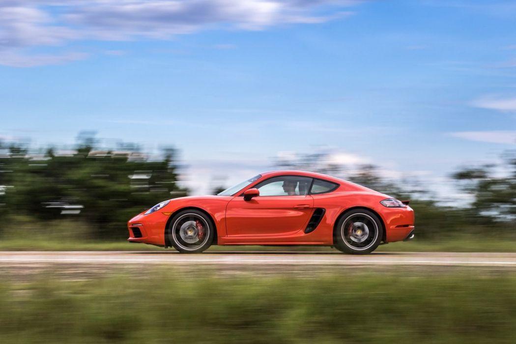 2017 Porsche 718 Cayman (S) (982C) cars US-version 2016 wallpaper