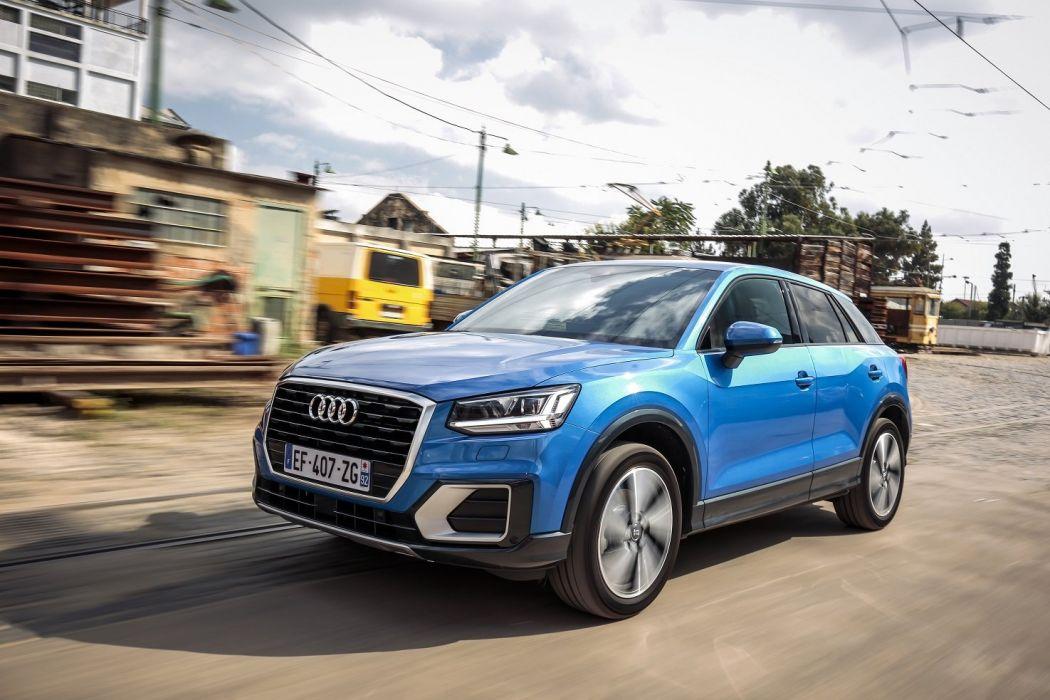Audi (Q2) TFSI design cars suv blue 2016 wallpaper