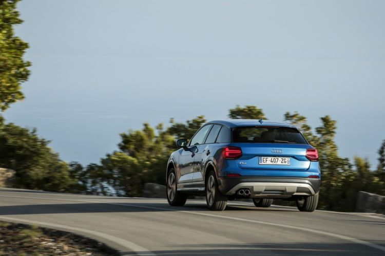 Audi (Q2) TFSI design cars suv blue 2016 wallpaper