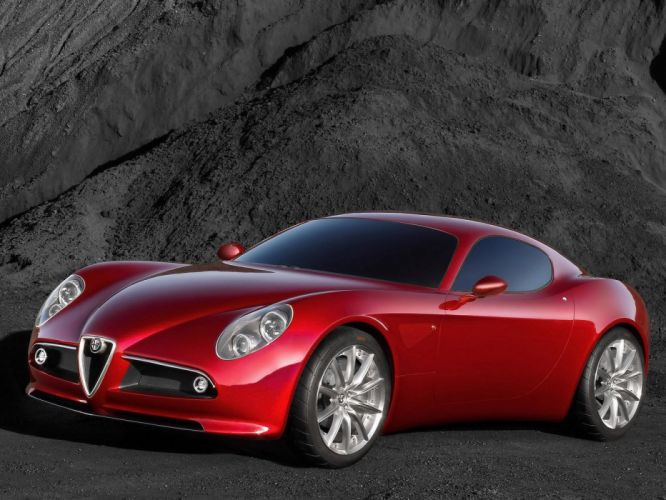 Alfa Romeo 8c Competizione 2003 wallpaper