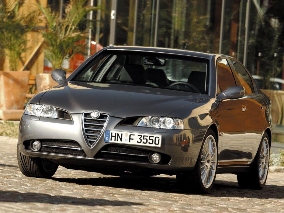 Alfa Romeo 166 2003 wallpaper