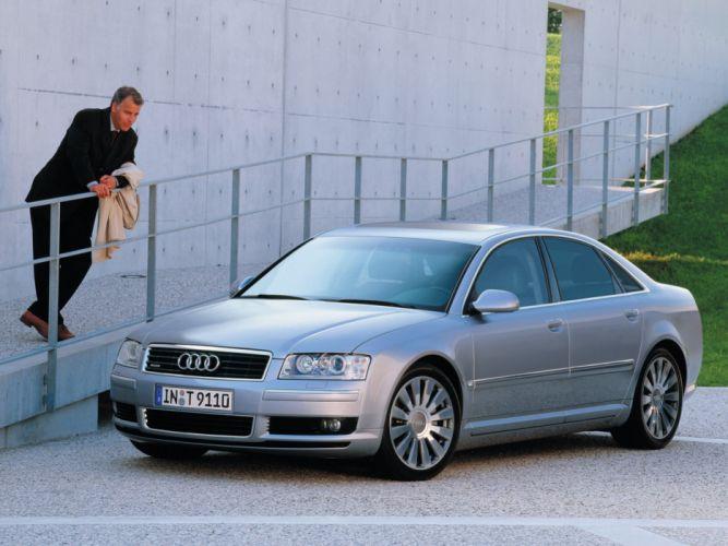 Audi A8 4 2 Quattro 2003 wallpaper