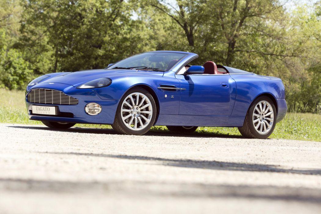 Aston Martin V12 Vanquish Roadster Zagato 2004 wallpaper
