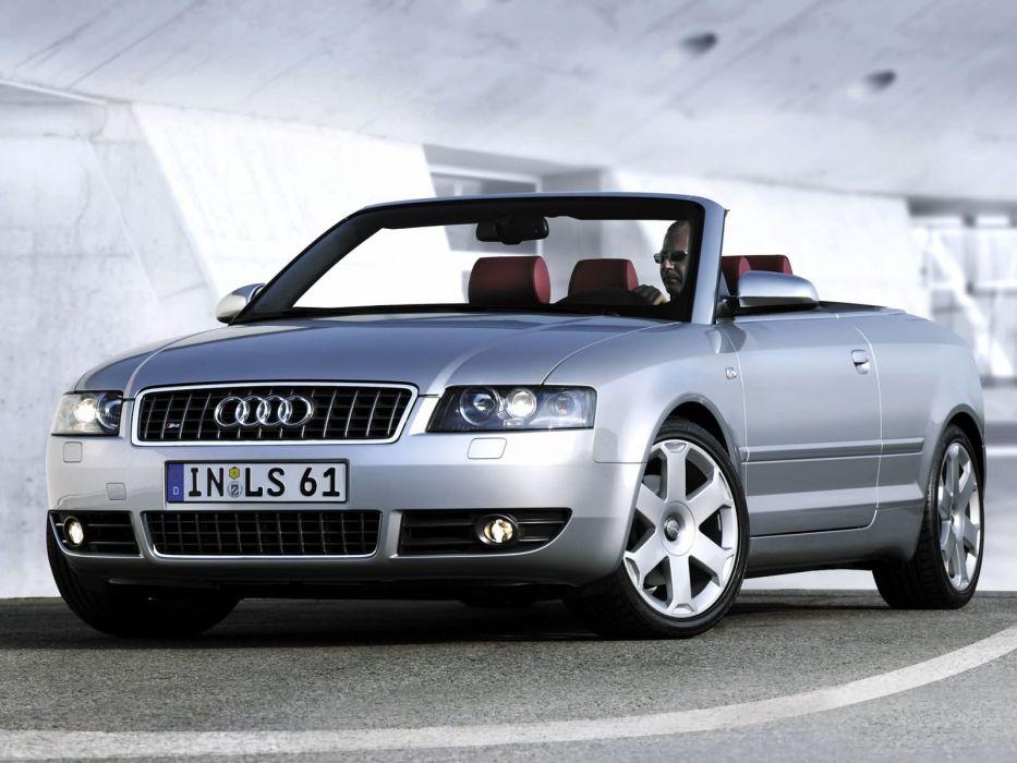 Audi S4 Cabrio 2003 wallpaper