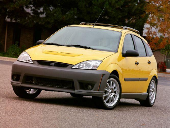 Ford Focus 5-door Performance Concept 2003 wallpaper