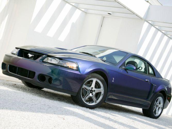 Ford Mustang SVT Cobra Mystichrome 2004 wallpaper