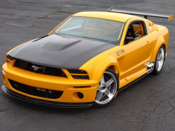 Ford Mustang GT-R Concept 2004 wallpaper