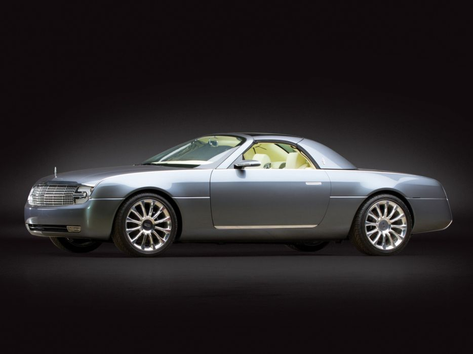 Lincoln Mark X Concept 2004 wallpaper