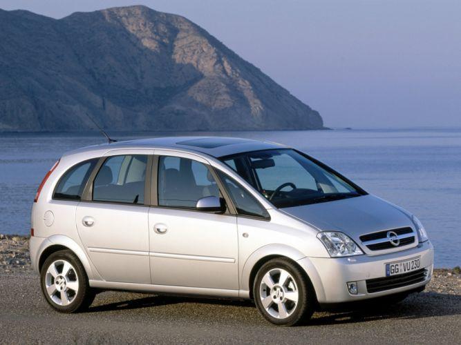 Opel Meriva 2003 wallpaper