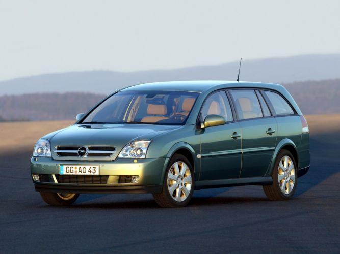 Opel Vectra Caravan 2003 wallpaper