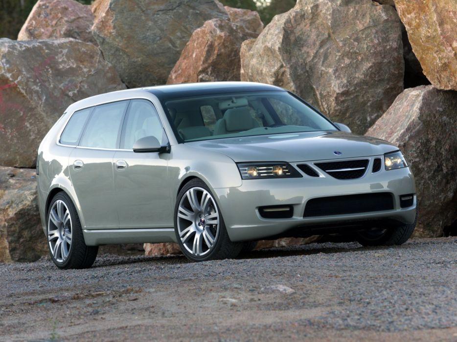 Saab 9-3 Sport Hatch Concept 2003 wallpaper