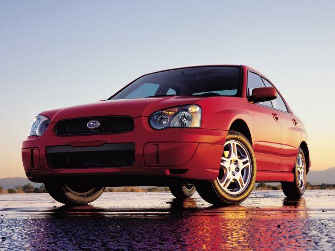 Subaru Impreza 2 5 RS 2003 wallpaper
