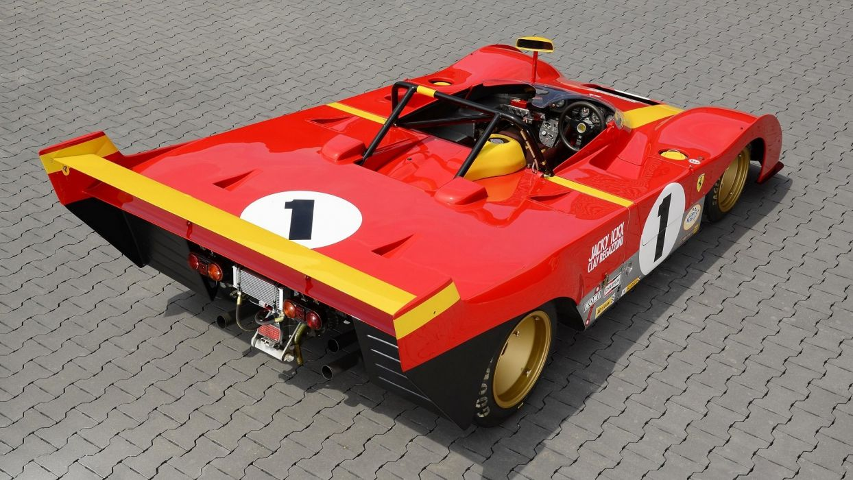Ferrari 312P cars racecars 1972 wallpaper