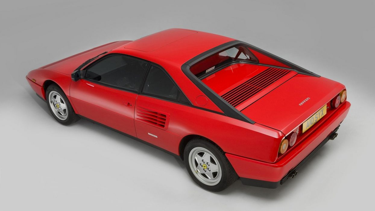Ferrari Mondial-T UK-spec cars 2+2 red 1989 wallpaper