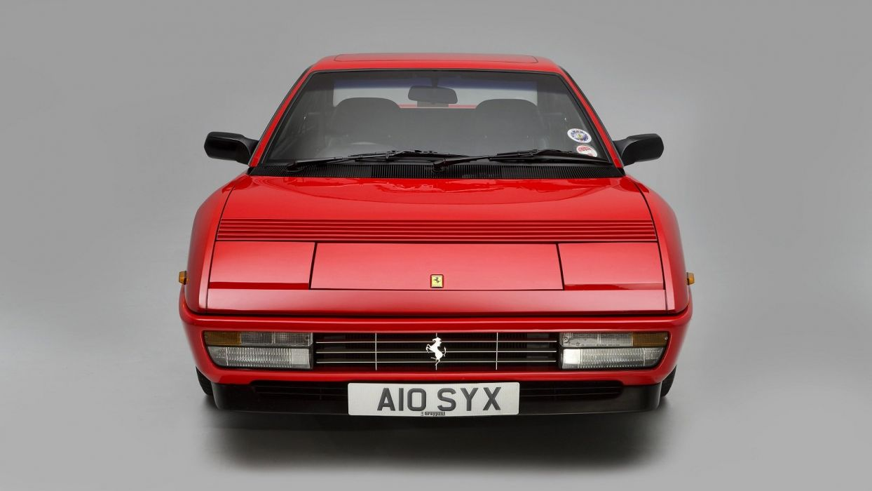 Ferrari Mondial-T UK-spec cars 2+2 red 1989 wallpaper