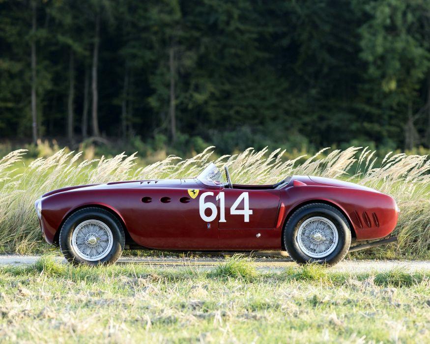Ferrari 340 America Spyder vignale cars classic 1951 wallpaper