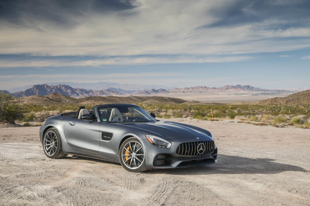 2017 Mercedes AMG GTC Roadster us-version (R190) cars wallpaper