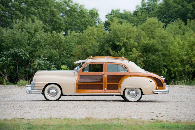 1948 Chrysler Windsor Town Country Sedan cars classic wallpaper