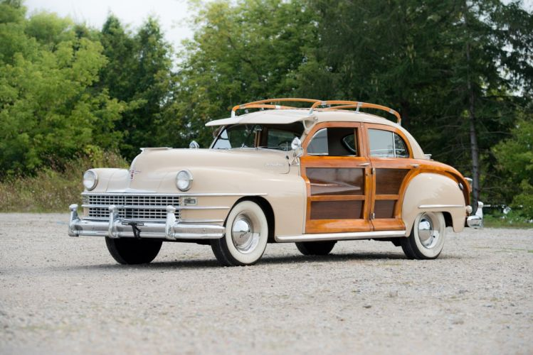 1948 Chrysler Windsor Town Country Sedan cars classic wallpaper