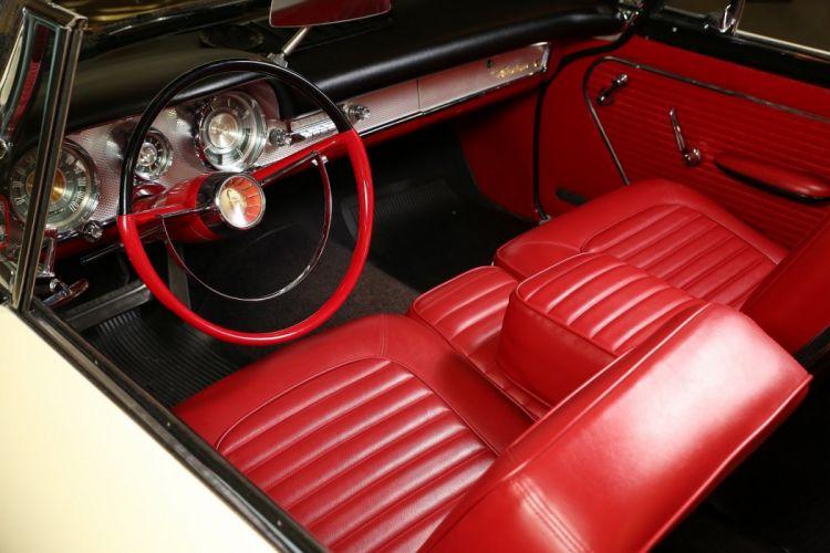 1959 Chrysler Windsor Convertible cars white classic wallpaper