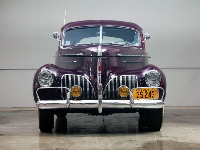 1940 Studebaker Commander Club Sedan cars classic wallpaper