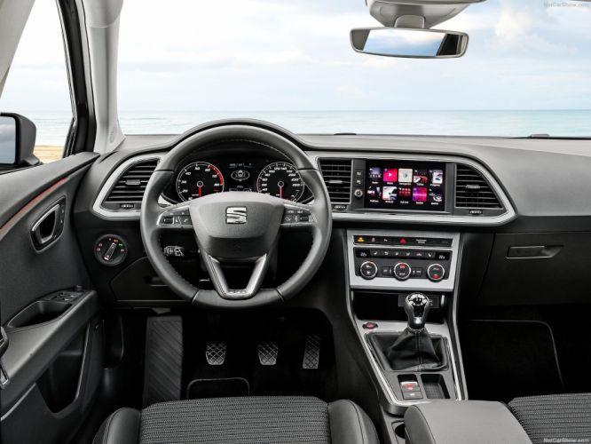Seat Leon (ST) cars 2017 wallpaper