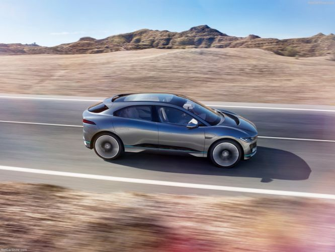 Jaguar I-Pace Concept cars 2016 wallpaper