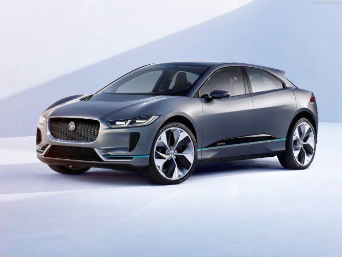 Jaguar I-Pace Concept cars 2016 wallpaper