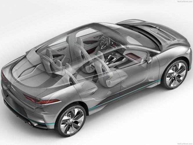 Jaguar I-Pace Concept cars 2016 cutaway wallpaper