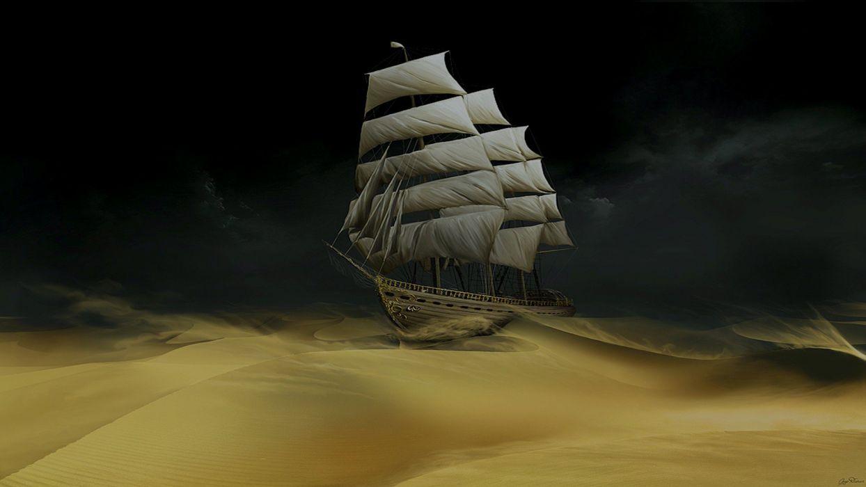 boat sand Tintin wallpaper