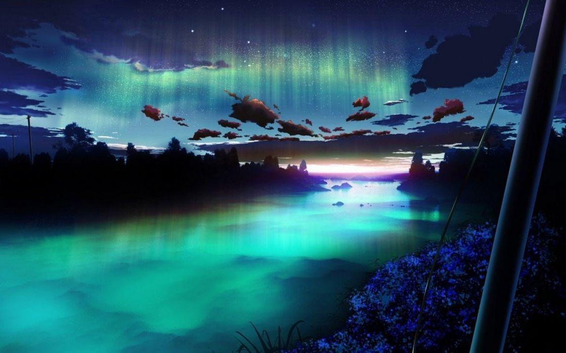 digital art Dreamy landscape sky wallpaper