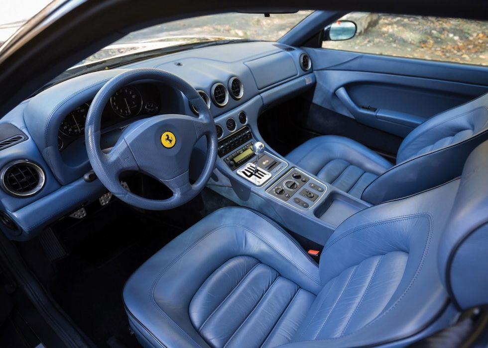 Ferrari 456 M-GT cars blue 2+2 cars 1998 wallpaper