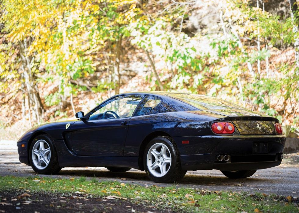 Ferrari 456 M-GT cars blue 2+2 cars 1998 wallpaper