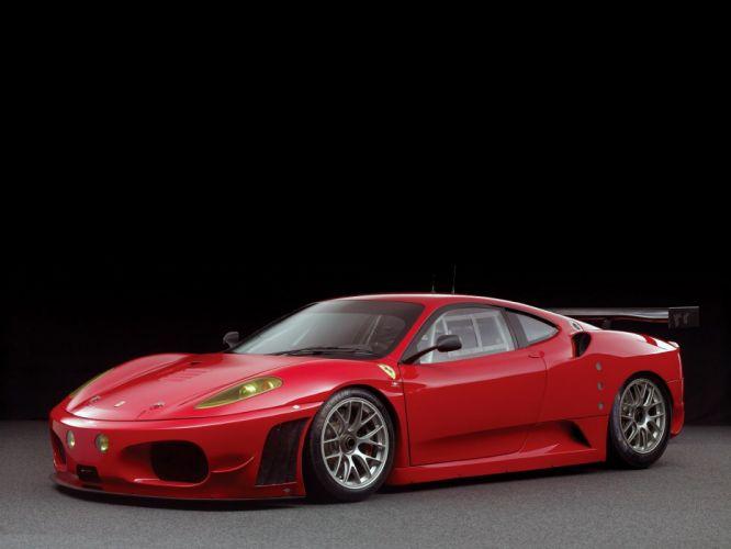 Ferrari F430 GTC Michelotto cars racecars red 2006 wallpaper