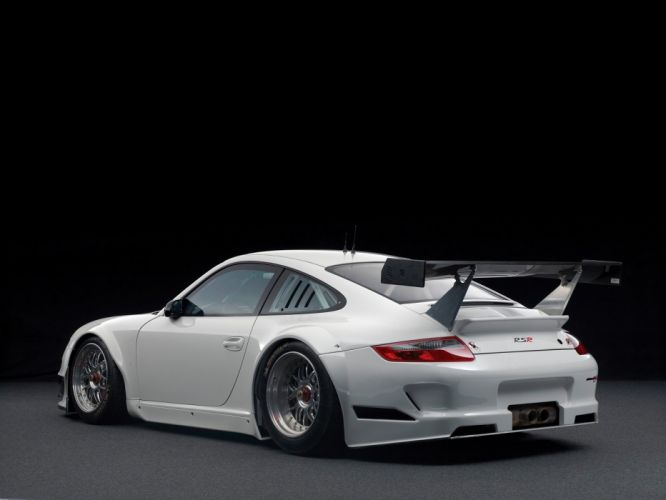 Porsche 911 GT3 RSR (997) cars racecars 2009 wallpaper