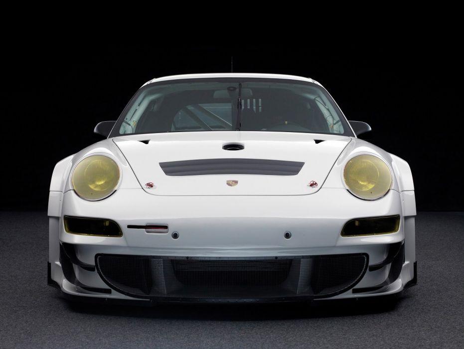Porsche 911 GT3 RSR (997) cars racecars 2009 wallpaper