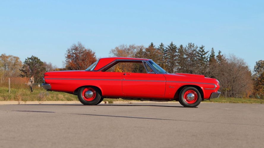 1964 PLYMOUTH BELVEDERE LIGHTWEIGHT cars 426 red wallpaper