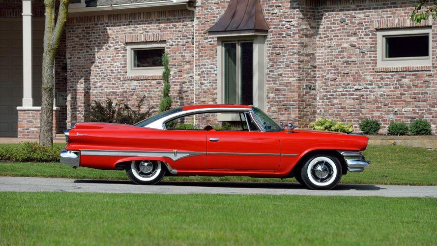 1960 DODGE DART PHOENIX D500 cars classic red wallpaper