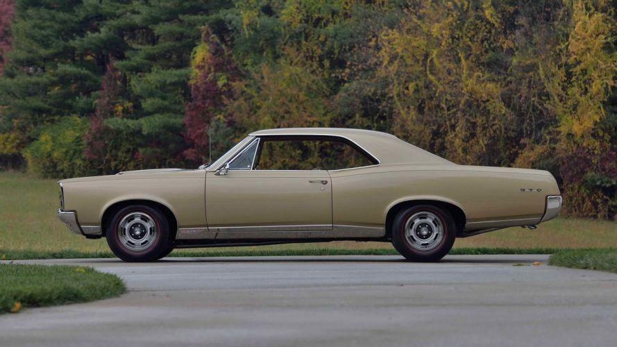 1967 PONTIAC GTO cars coupe wallpaper
