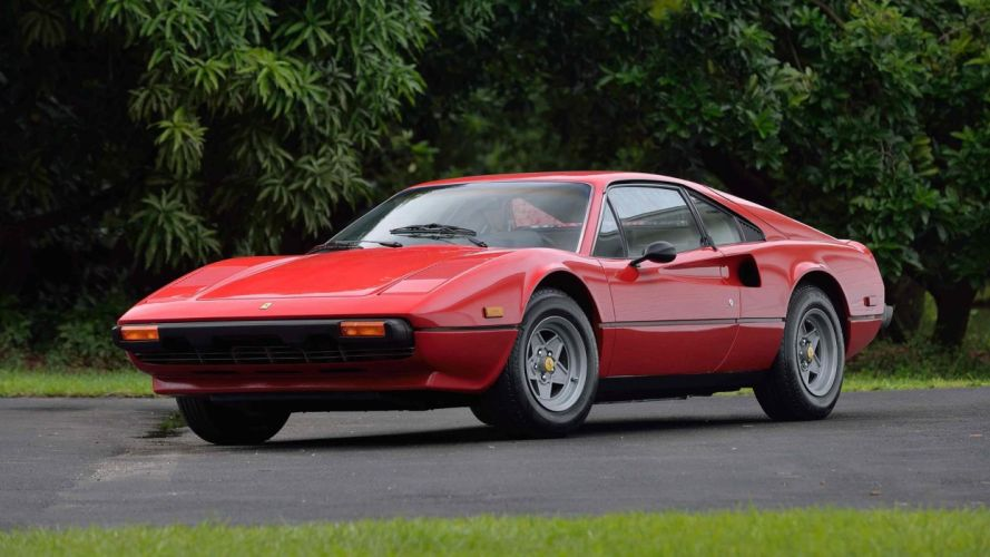 1980 FERRARI 308 GTB cars red wallpaper